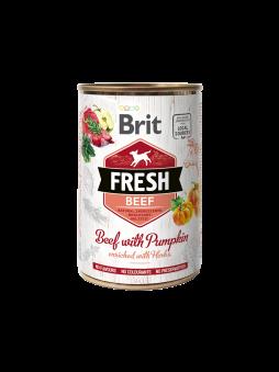 Brit Fresh Nötkött - Nötkött med pumpa