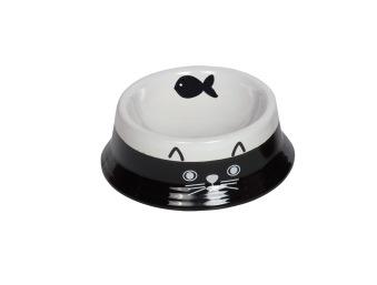 Keramik skål till katt -