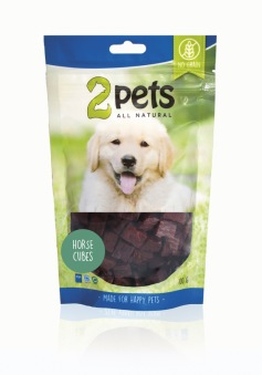 2pets Dogsnack Horse Cubes - Dogsnack Horse