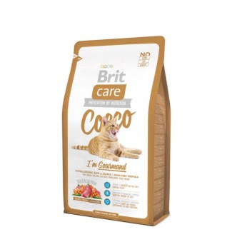 Brit Care Cat Gourmand Cocco - Cat Gourmand Cocco 400 gr