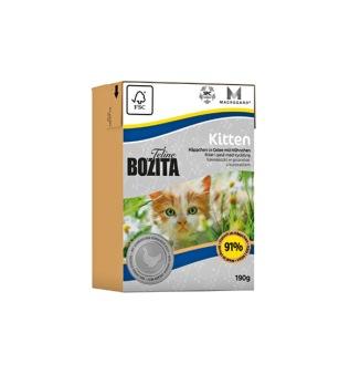Bozita Feline Tetra Kitten - kitten 190 gr
