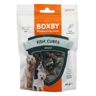 BOXBY PROLINE FISH CUBES - FISH CUBES
