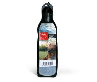Canis bärbara vattenflaska 500 ml - Svart