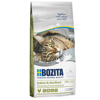 Bozita Indoor& Sterilised Kyckling - 2 kg