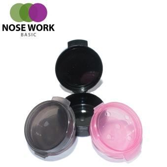 Behållare för Nose Work i plast 3-pack - Behållare