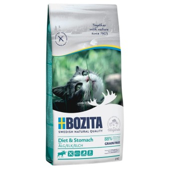 Bozita Diet & Stomach GF Älg - 2 kg