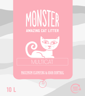 Monster Multicat - Multicat 10 L