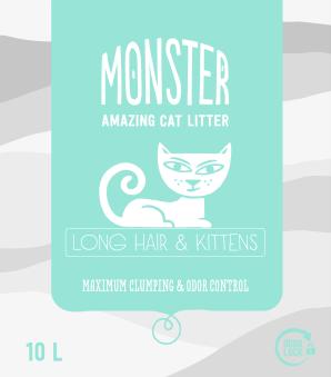 Monster Longhair/Kitten - Longhair/Kitten 10 L