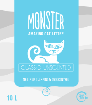 Monster  Unscented - Unscented 10 L