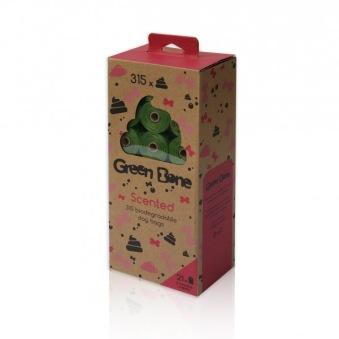 GreGreen bone bajspåsar parfymerade - lätt parfymerade (totalt 315 påsar)