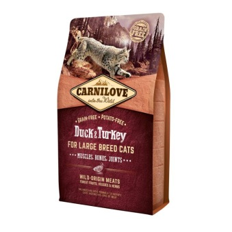 Carnilove Cat Large Breed Anka & Kalkon - 0,4 kg