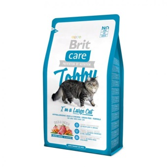 Brit Care Cat Tobby I´m a Large Cat - 0,4 kg