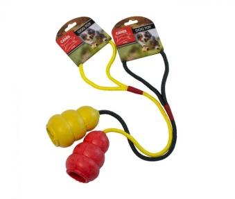Active Canis kängla med rep, 30 cm - Röd