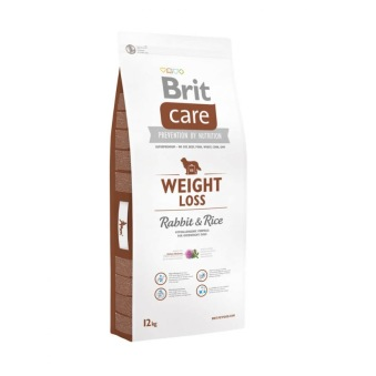 WEIGHT LOSS RABBIT & RICE 12 kg - 12 kg