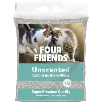 Four friends katsand 7 kg - OPARFYMERAD 7 kg