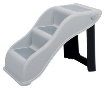 Trappa, hopfällbar, plast 34 × 39 × 54 cm - Trappa