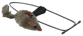 Kattleksak Plyschmus 8 cm för dörrkarm - Plyschmus
