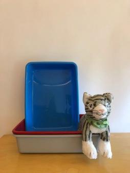 Liten kattlåda - Blå