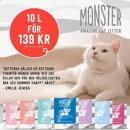 Monster kattsand 139 kr
