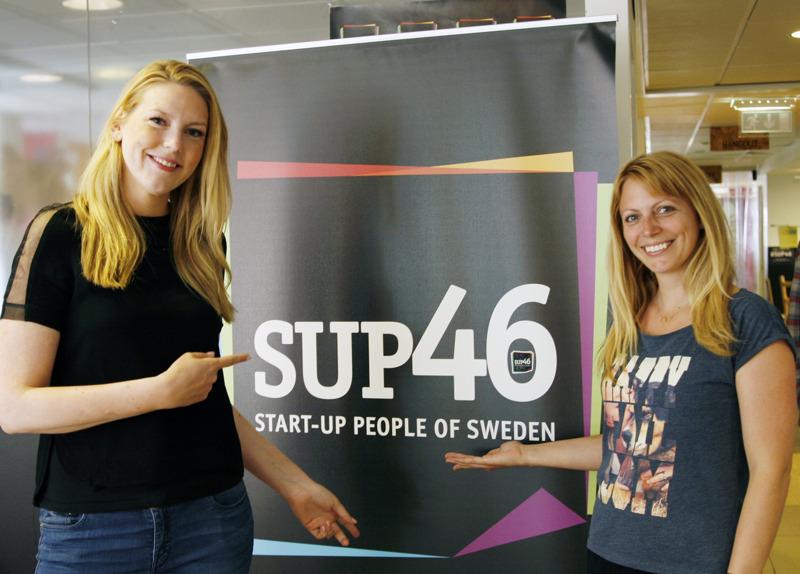 SUP 46 har varit viktigt för Katharina Welin och Maja Magnusson. Foto: Marie Ericsson Drotte