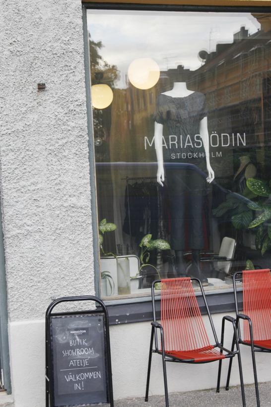 Maria Sjödin showroom och ateljé i Midsommarkransen, Stockholm.
