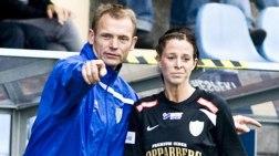Torbjörn Nilsson fick träna och coacha Lotta Schelin en halv säsong 2008.