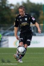 Johanna Almgren hade en bra dag på jobbet.