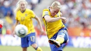Marie Hammarströms drömmål mot Frankrike i VM.