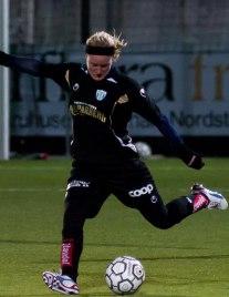 Marie Hammarström med från start mot Island tillsammans med syrran Kristin.