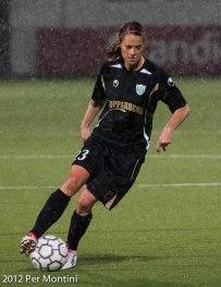 Johanna Almgren spelar från start i matchen mot USA.