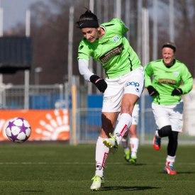 Yael Averbuch enda målskytt för KGFC i matchen.
