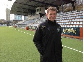Torbjörn Nilsson ser fram emot att träna ett ungdomslag.