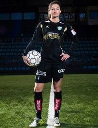 Jodie Taylor gjorde sitt första mål för sin nya klubb.