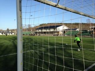 Dags för damallsvensk fotboll på Lindevi IP som dessutom fått nya sittplatsläktare lagom till matchen.