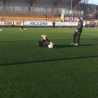 Målvaktsträning i Skellefteå