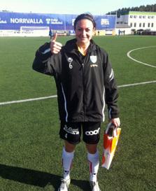 Jodie Taylor tremålsskytt och matchen lirare mot Sunnanå.