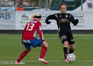 Marlene Sjöberg var en av målskyttarna mot Örebro.