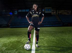 Anita Asante målskytt och mycket bra i matchen mot Piteå.