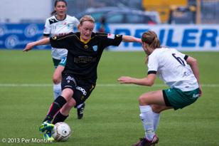 Marie Hammarström visade vägen med sitt 1-0.