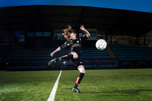 Amanda Edgren målskytt mot Tyresö.
