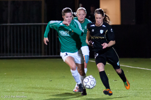 Match i Champions Leauge hemma på Valhalla mot Fortuna Hjörring 2012.