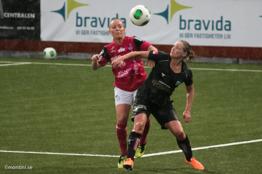 Sara Lindén, matchens lirare mot Jitex.