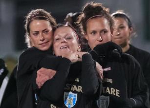 Så såg det ut 2012 när cupguldet bärgades i finalen mot Tyresö.