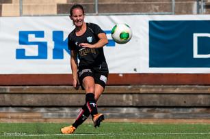 Hur många mål gör Manon Melis mot LFK?