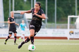 Beata Kollmats svarsde för 2 mål mot Umeå.