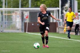 Sofia Skog svarade för 2 mål när Mossens BK besegrades med 4-3.