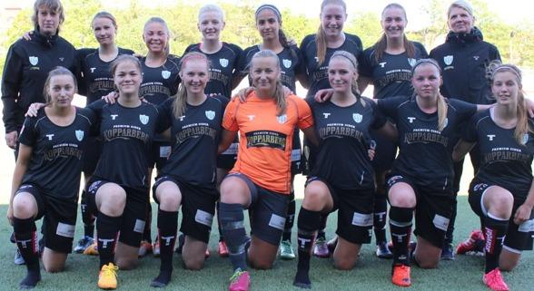 Laget som tog tre poäng mot Kristiandstad DFF
