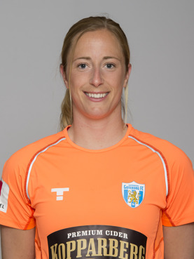 Loes Geurts missade matchen mot Kina på grund av en stukad fot. Men någon fara för den allsvenska omstarten är det inte.