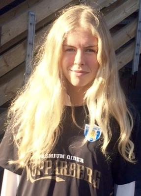 Välkommen till KGFC, Maja Göthberg!