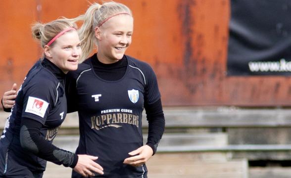 Sara Lindén är inne på sitt andra årtionde som allsvensk stjärna – då har hon bestämt sig för att göra sin bästa säsong - ever!!! Foto PER MONTINI